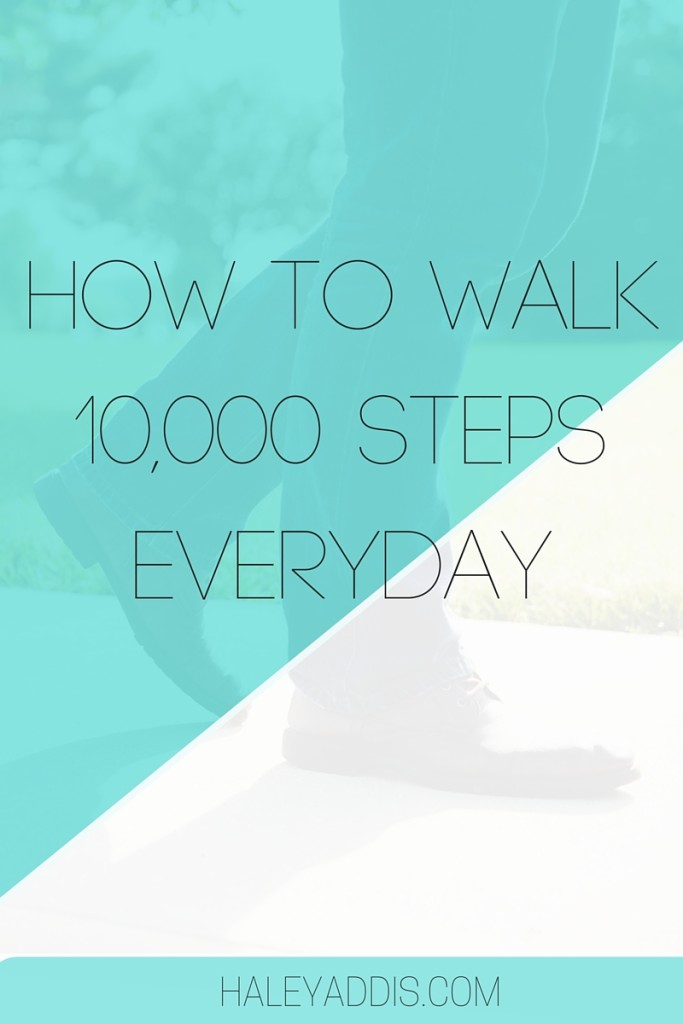 How to get more steps in your day.