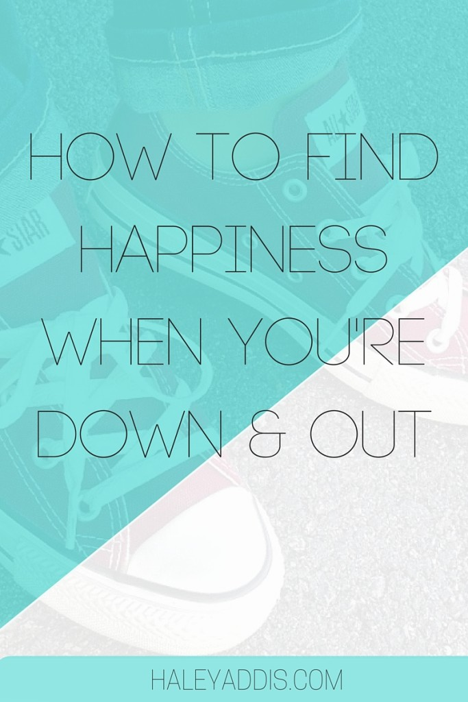 Finding happiness isn't always easy. Here are a few ways to help you BE happy.